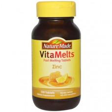 Цинк со вкусом меда и лимона Nature Made, 100 таблеток