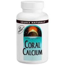 Коралловый кальций Source Naturals 600 мг, 120 капсул