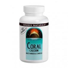 Мультиминеральный комплекс с коралловым кальцием Source Naturals, 120 таблеток