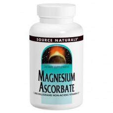 Магния аскорбат Source Naturals 1000 мг, 120 таблеток
