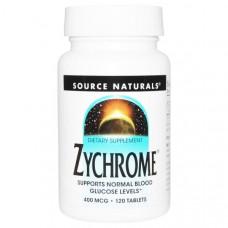 Хром Source Naturals 400 мкг, 120 таблеток