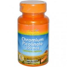 Пиколинат хрома Thompson 200 мкг, 60 таблеток