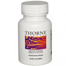 Марганец бисглицинат Thorne Research, 60 капсул