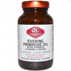 Olympian Labs Inc., Примула вечерняя Evening Primrose Oil, Extra Strength, 60 Softgels