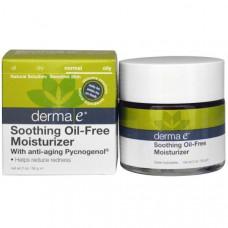 Derma E, Успокаивающее увлажняющее средство c омолаживающим пикногенолом, не содержит масел, 2 унции (56 г)