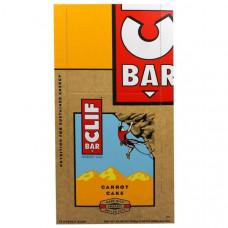 Clif Bar, Морковный пирог, 12 энергетических батончиков, по 2,40 унции (68 г)