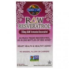 Garden of Life, RAW Resveratrol, 60 Veggie Caps