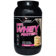 AI Sports Nutrition, 100% белок молочной сыворотки, Праздничный торт, 1.98 фунтов (896 г)