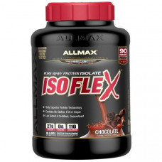 ALLMAX Nutrition, Isoflex, Pure Whey Protein Isolate, Chocolate, 5 lbs (2.27 kg)