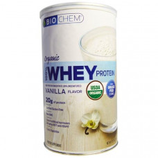 Country Life, Органический 100% сывороточный протеин, ваниль, 360 г (12,7 унций)