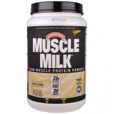 Cytosport, Inc, Genuine Muscle Milk, протеиновый порошок для развития сухой мышечной массы, со вкусом сливочной ванили, 2,47 фунтов (1120 г)