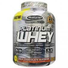 Muscletech, 100% Platinum Whey, молочный шоколад, 2,28 кг (5,03 фунтов)
