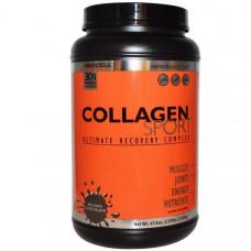 Neocell, Collagen Sport, Восстановливащий комплекс, бельгийский шоколад, 2.97 фунта (1350 г)