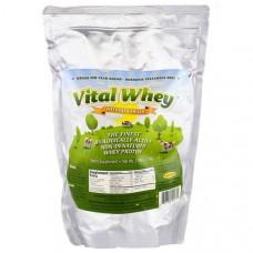 Well Wisdom, Vital Whey, натуральная ваниль, 2,5 фунта (1,13 кг)