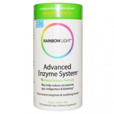 Rainbow Light, Дополнительные Ферменты Быстрого Высвобождения, 180 Капсул