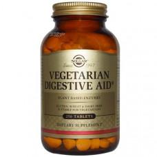 Solgar, Средство для улучшения пищеварения для вегетарианцев, 250 таблеток