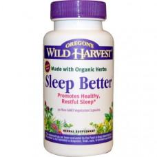 Oregons Wild Harvest, Sleep Better , 90 вегетерианских капсул без ГМО