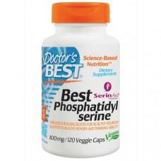 Doctors Best, Фосфатидилсерин Best, 100 мг, 120 растительных капсул