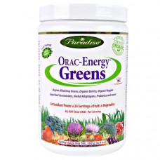 Paradise Herbs, ORAC-Energy Greens, 6.4 унций (182 г)
