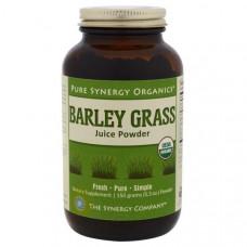 The Synergy Company, Органические продукты Pure Synergy, порошок из сока зеленых побегов ячменя, 5,3 унций (150 г)