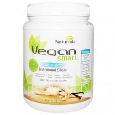 Vegan Smart, Vegan Smart, Все-в-одном, питательный коктейль, ваниль, 22,8 унции (645 г)