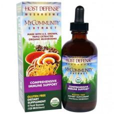 Fungi Perfecti, МоеСообщество для защиты организма из серии Грибы для защиты организма, органический грибной экстракт для комплексного поддержания