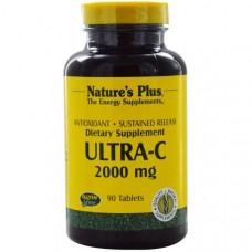 Natures Plus, Ультра-C, 2000 мг, 90 таблеток