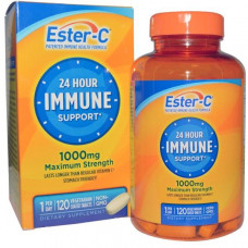 Natures Bounty, Эстер-C, улучшенный витамин С, 1000 мг, 120 таблеток