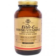 Solgar, Эстер-C плюс, витамин C, 1 000 мг, 180 таблеток