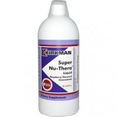 Kirkman Labs, Жидкая добавка Super Nu-Thera cо вкусом малины, 29 жидких унций (857 мл)