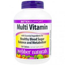 Мультивитаминный комплекс для поддержания здорового уровня сахара в крови Diabetex Диабетекс  120 таблеток