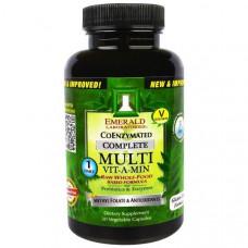 Мультивитамины полноценный комплекс с коэнзимами Emerald Laboratories CoEnzymated Multi Vit-A-Min