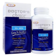 Мультивитамины для мужчин Выбор врача Enzymatic Therapy  от 50 лет 120 таблеток