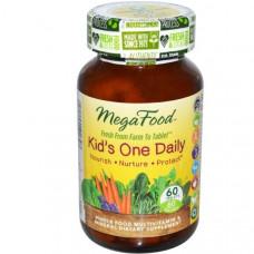 Мутивитамины MegaFood Для детей на каждый день 60 таблеток