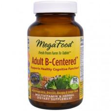 Мультивитаминный комплекс с травами Взрослый B-основанный MegaFood  90 таблеток