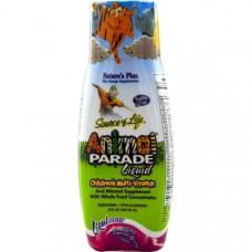 Natures Plus, Источник жизни, жидкий, детский мультивитамин, природный тропический ароматизатор.