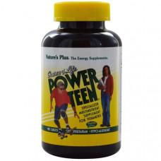 Мультивитамины и минералы для подростков Natures Plus Source of Life сильный подросток 180 таблеток