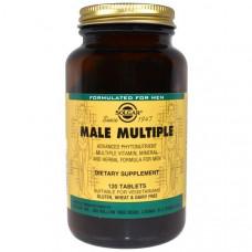 Мультивитамины для мужчин Solgar Male Multiple  120 таблеток