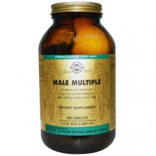 Мультивитамины минералы и травяная формула для мужчин Solgar  Advanced Phytonutrient 180 таблеток