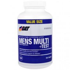 GAT, Мульти + якорцы для мужчин, мультивитаминный комплекс для мужчин с добавлением экстракта якорцов стелющихся, 150 таблеток