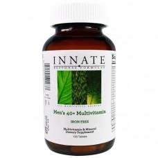 Innate Response Formulas, Мультивитаминный комплекс для мужчин 40+, не содержит железа, 120 таблеток