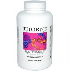 Thorne Research, Als Formula, основные питательные вещества для мужчин за 40, 240 растительных капсул