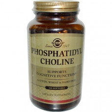 Solgar, Phosphatidylcholine, 100 Softgels