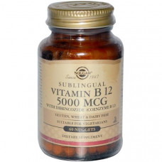 Solgar, Витамин В12 60 шт.