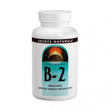 Source Naturals, Витамины B-2, 100 мг, 250 таблеток