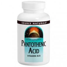 Source Naturals, Пантотеновая кислота, 500 мг, 200 таблеток