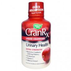 Natures Way, CranRX, клюквенный сок, 16 жидких унций (480 мл)