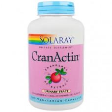 Solaray, CranActin, экстракт клюквы AF, 180 вегетарианских капсул