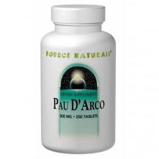 Source Naturals, По дАрко, 500 мг 250 таблеток