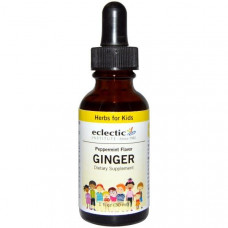 Eclectic Institute, Ginger, Peppermint Flavor, 1 fl oz (30 ml)
